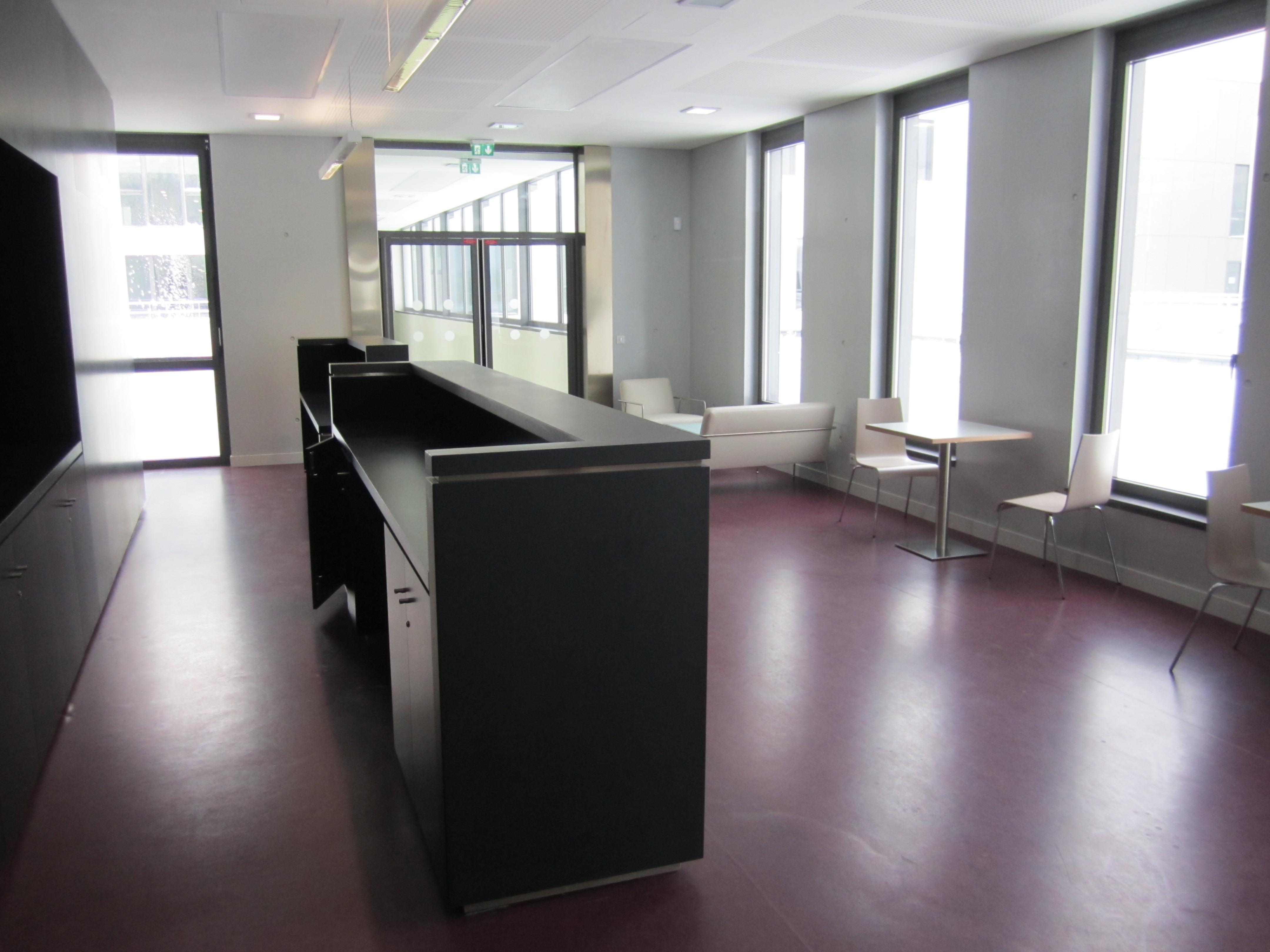 hall d'accueil hébergement
